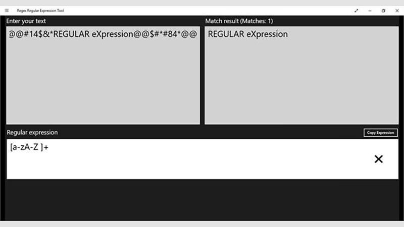 Regex Regular Expression Tool