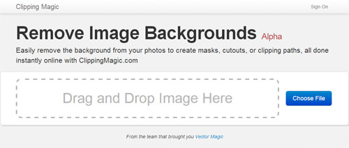 Choose an image to upload