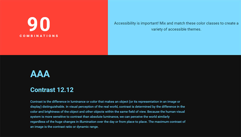Colors.css accessibility