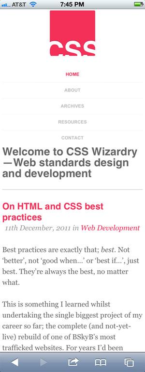 CSS Wizardy