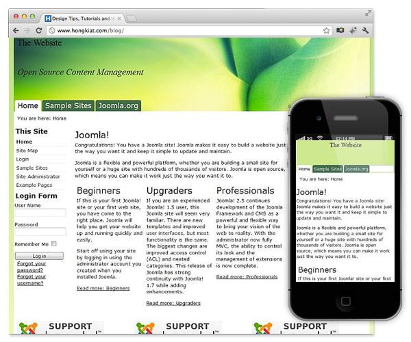 Top 10 free responsive joomla themes hongkiat h5bp4j pronofoot35fo Gallery