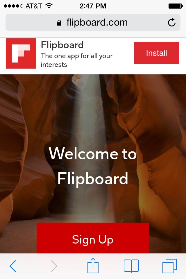 flipboard mobile website