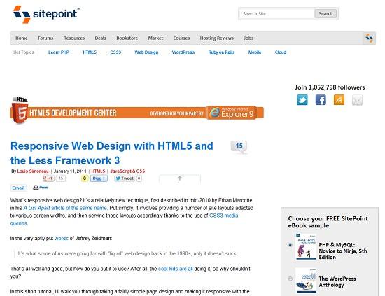 30 Useful Responsive Web Design Tutorials Hongkiat