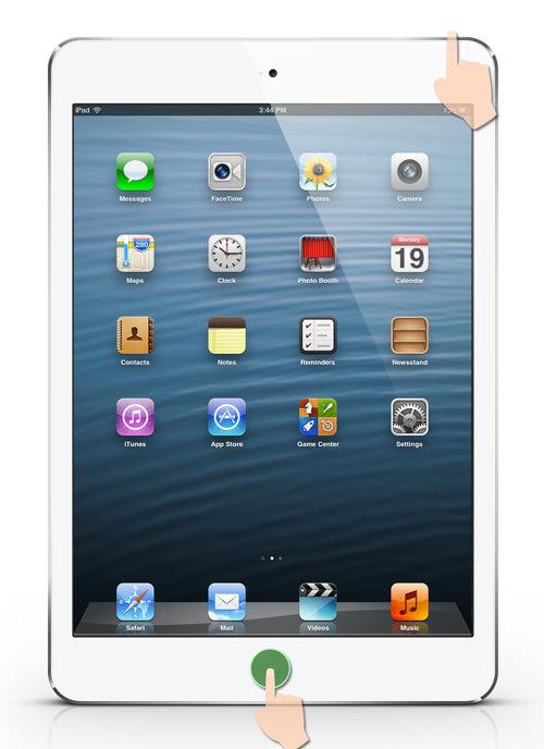 iPad Mini Force Reboot
