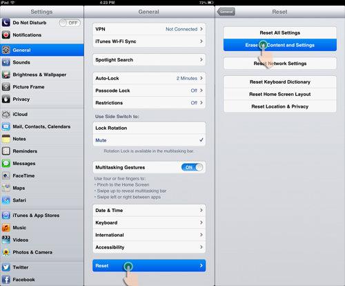 iPad Mini Restore