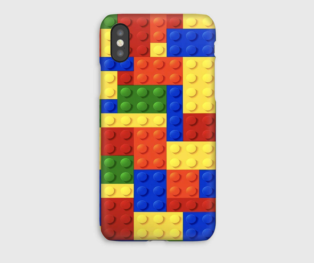 LEGO inspired iPhone Case