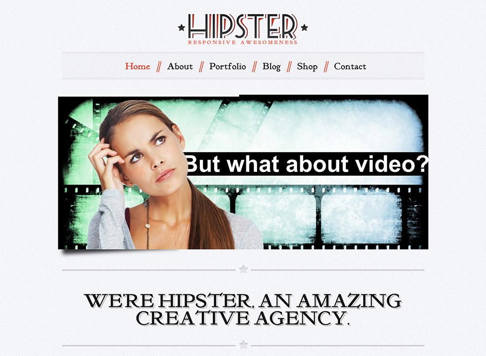 Hipster WordPress Theme
