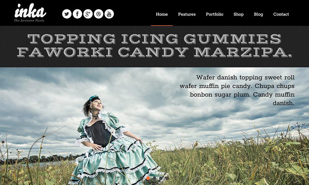 INKA WordPress Theme