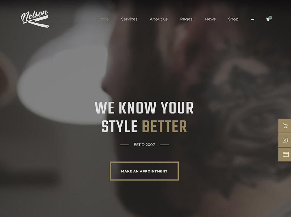 Nelson WordPress Theme