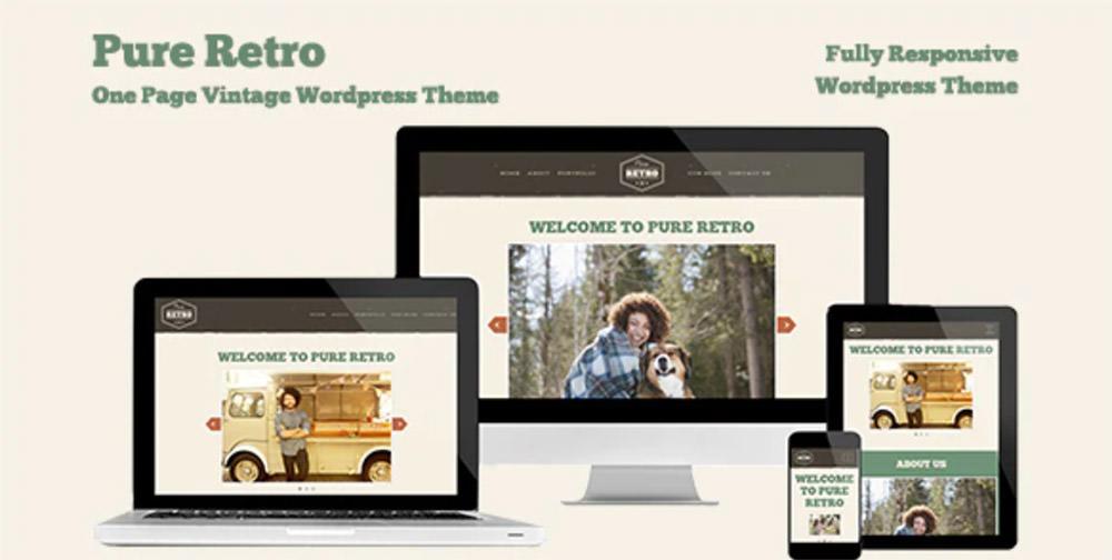 Pure Retro WordPress Theme