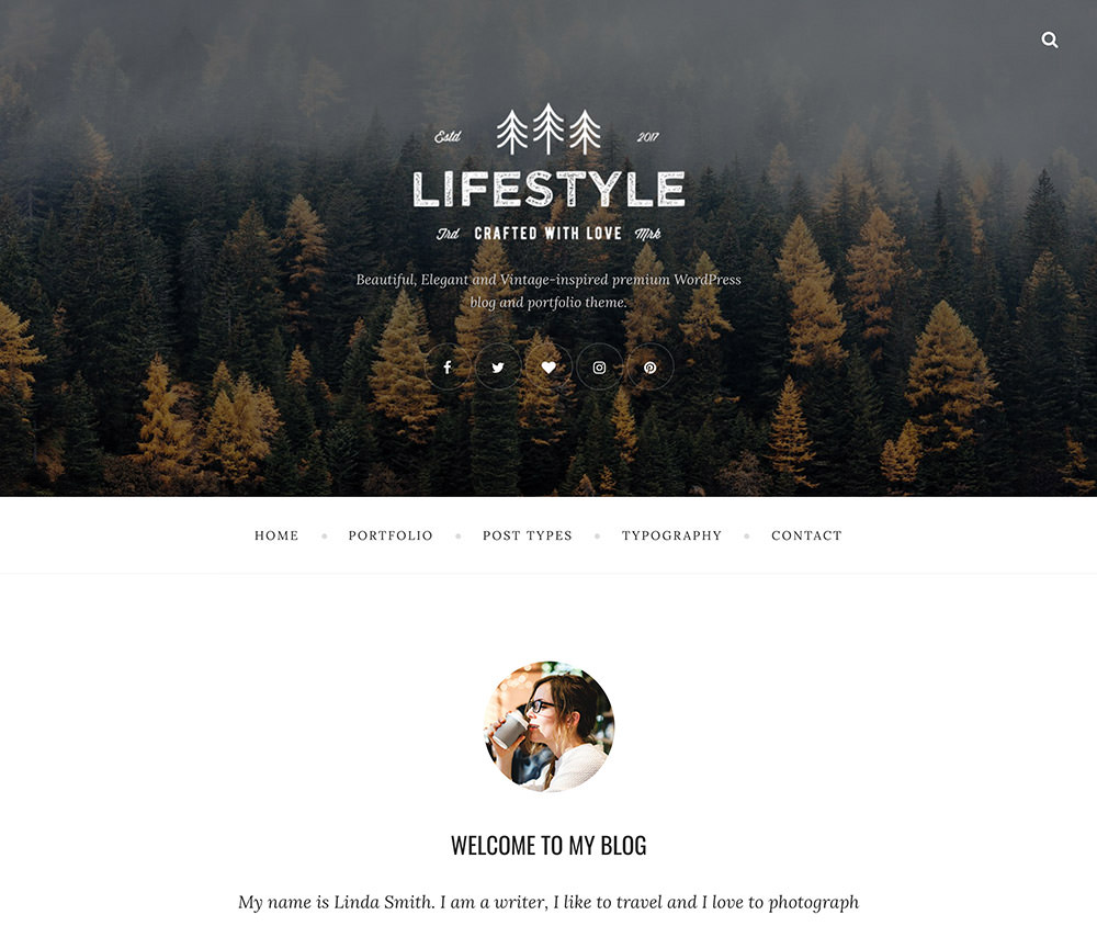 The Lifestyle WordPress Theme