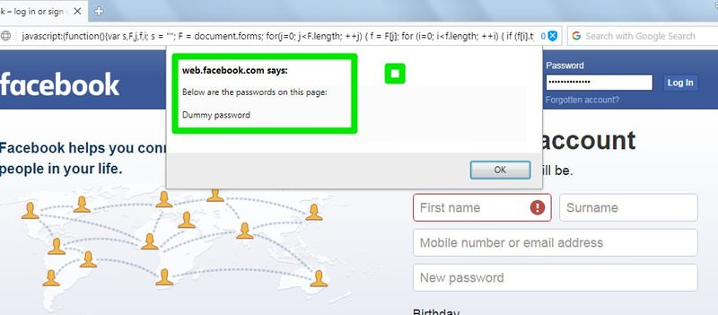 How To Reveal Passwords Asterisks In Browsers Hongkiat