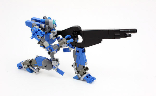 40 Impressive Robots Built with Lego Bricks - Hongkiat