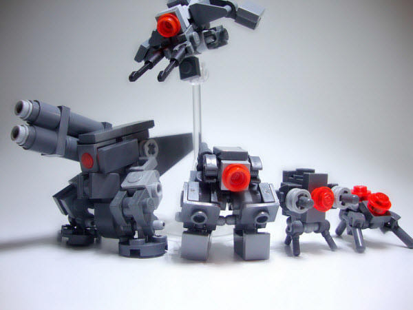 40 Impressive Robots Built with Lego Bricks - Hongkiat