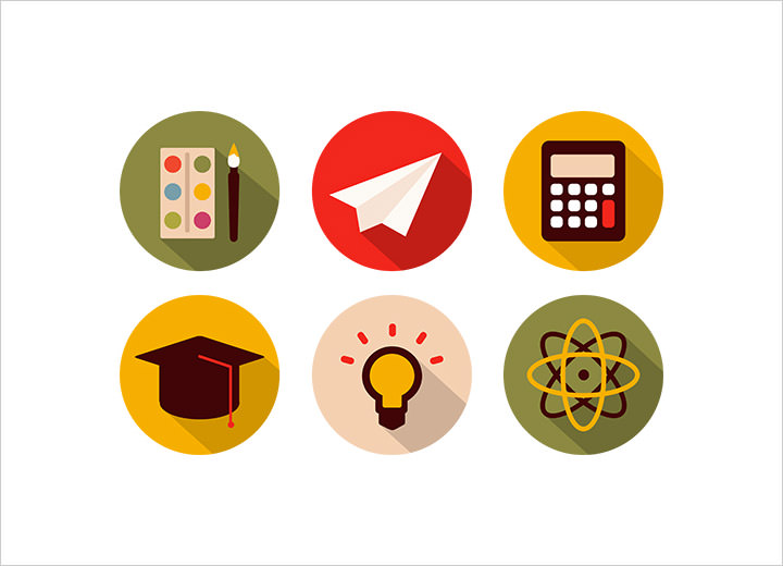 30 Free School and Education Icons sets to Download - Hongkiat