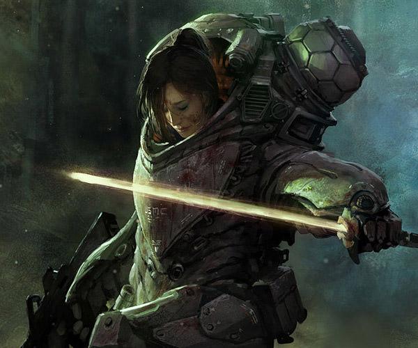 sci-fi artwork