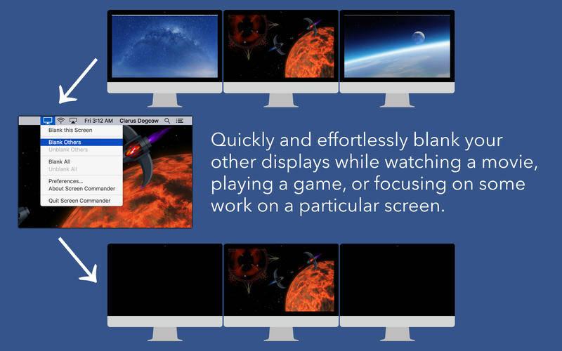 how screen commander works
