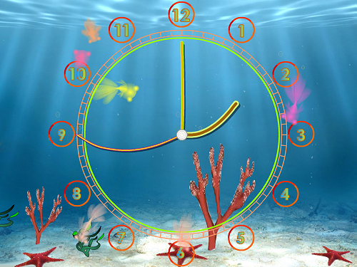 AquariumClock