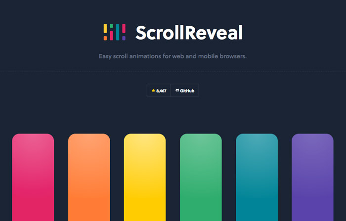scroll reveal