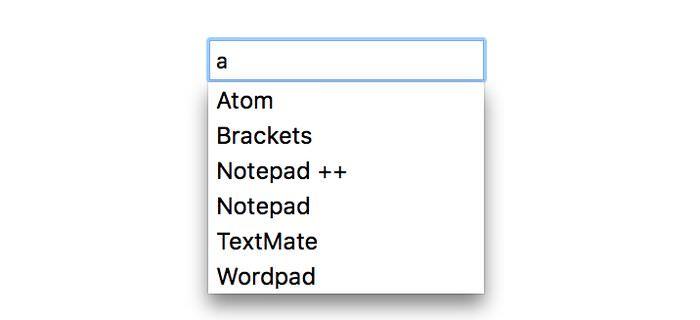 Initial Datalist