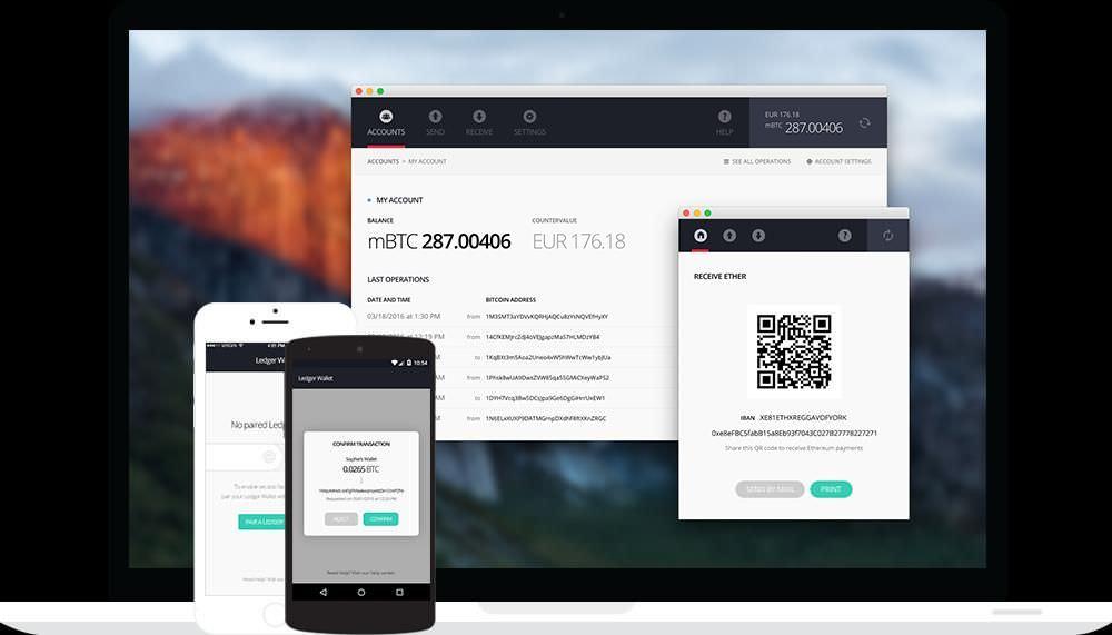 Ledger apps for multiple platforms