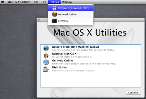 Secure Your Mac By Setting A Firmware Password [Quicktip]