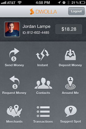 iOS iPhone Mobile apps Dwolla online payments gateway
