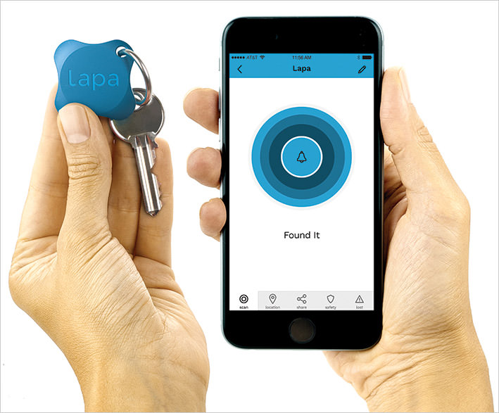 lapa bluetooth tracker