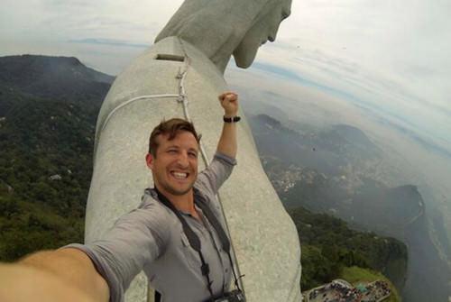 christ selfie