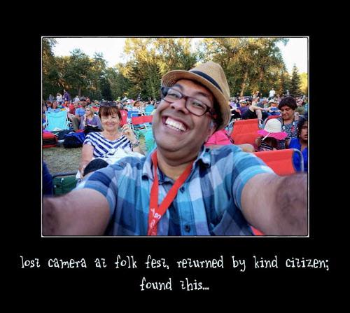 lost cam selfie
