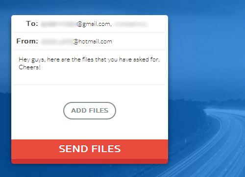 sending file