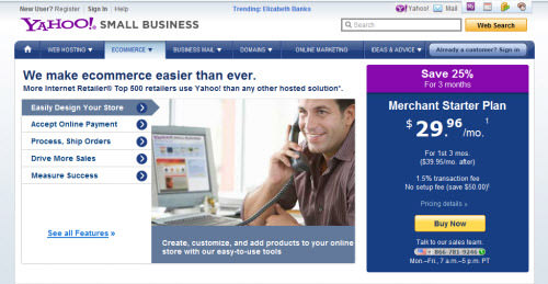 yahoo merchant solution