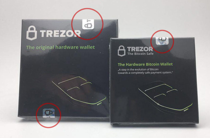 trezor security seal