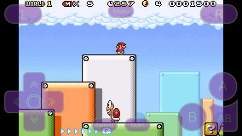 GBA4iOS Mario