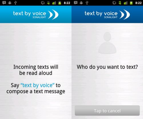 Sonalight Text by Voice - Siri Alternatives for Android [Voice Assistant Apps]