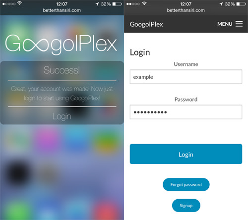 GoogolPlex Login