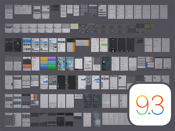 ios9 ui kit freebie