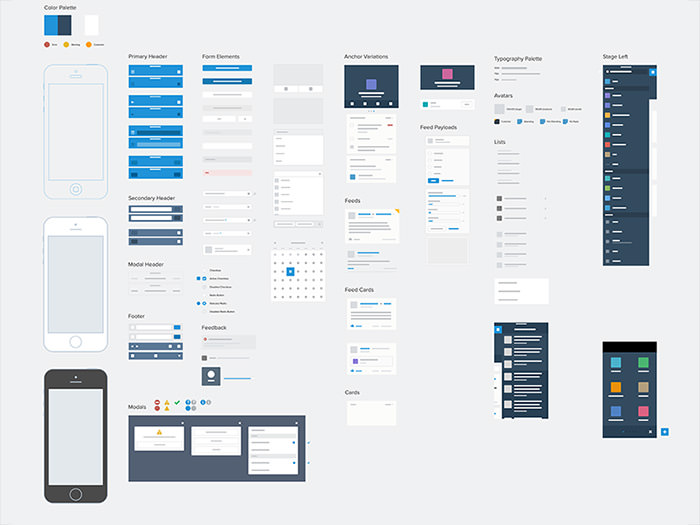 salesforce1 ui kit for sketch