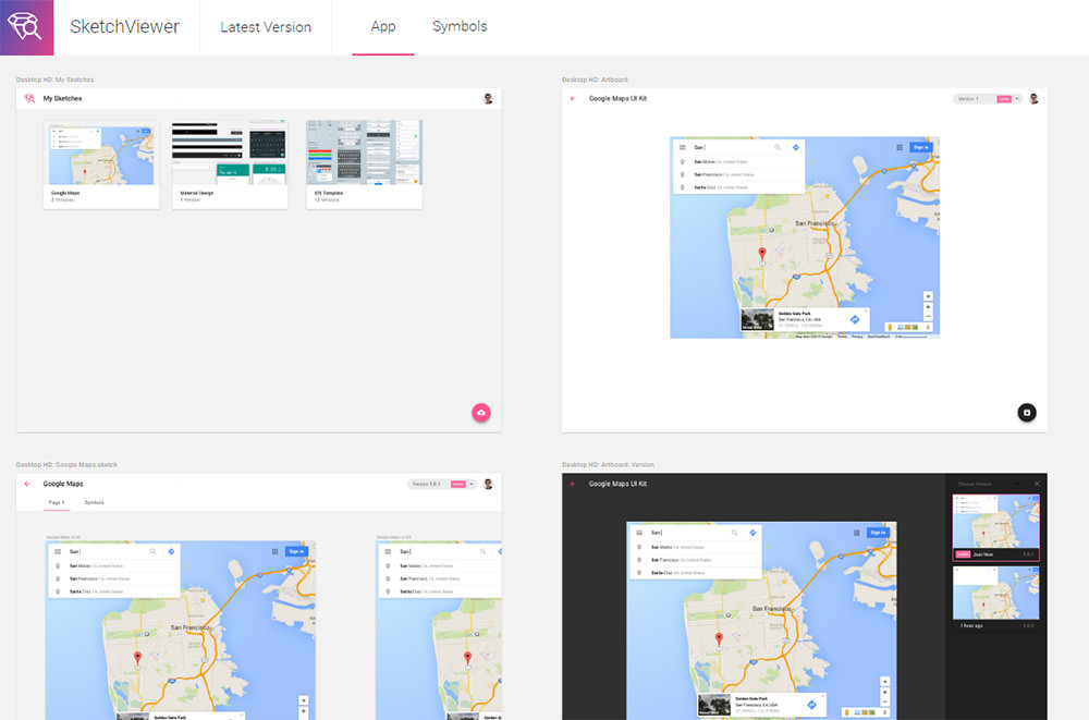 preview sketch viewer app