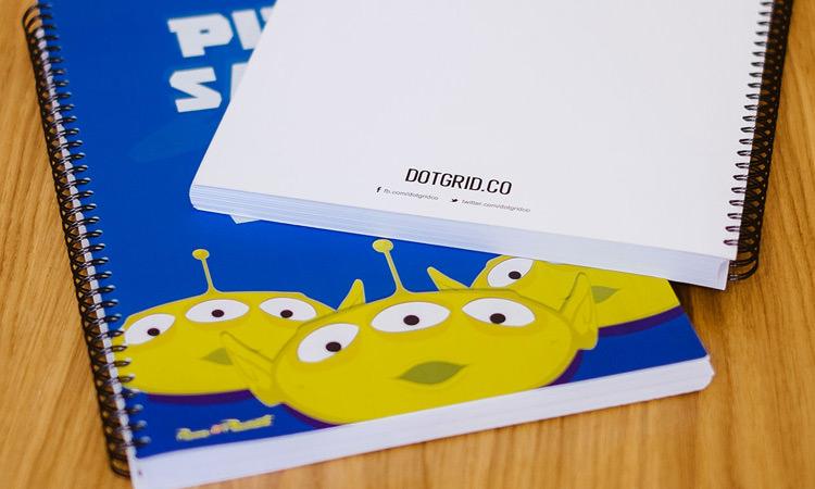 Dotgrid Toy Cover Sketchbook