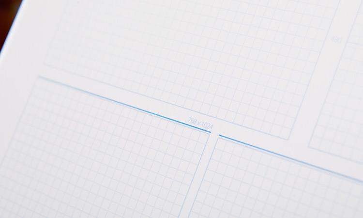 Sketchbook Responsive Design Page
