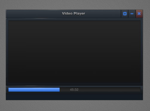 tutorial video player interface 60
