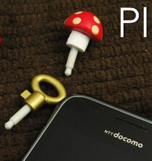 key plus mushroom