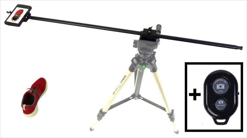 alzo smartphone camera horizontal mount