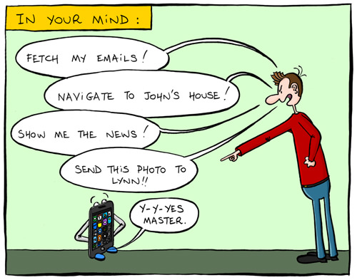 Smartphone Master Comic