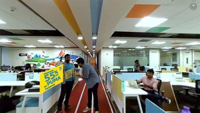 Flipkart 360° video
