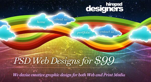 Hire PSD designer