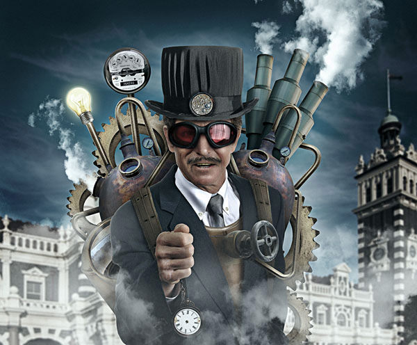 steampunk photoshop tutorials
