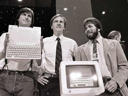 jobs, sculley, woznial