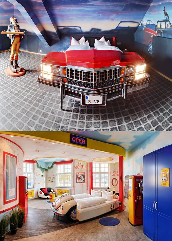 V8 Hotel, Germany